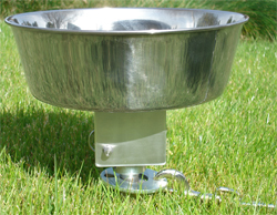 K9 SOS - Stake Out System with Attachable Water Bowl or Pail